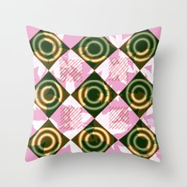 Abstract 251 Throw Pillow