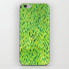 Watercolor Grass Pattern Green by Robayre iPhone & iPod Skin