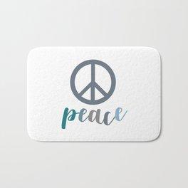 Peace- The symbol of peace Bath Mat