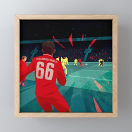 Miracle of Anfield Framed Mini Art Print