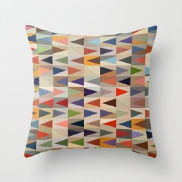 Abstract Composition 391 Throw Pillow
