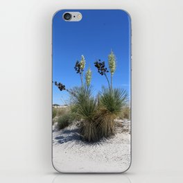 White Sands Dune With Soap Yucca iPhone Skin
