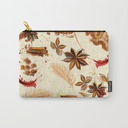 World of spices. Vector design Carry-All Pouch