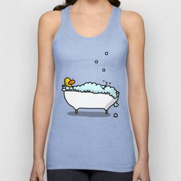 Tub Time Unisex Tank Top