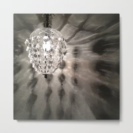 Light From the Chandelier Metal Print