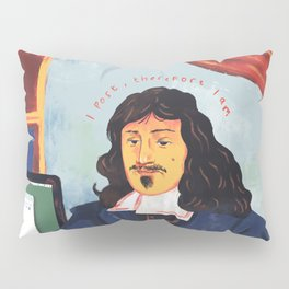 Modern Philosophy Pillow Sham