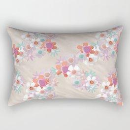 Rumpled Blossoms Rectangular Pillow