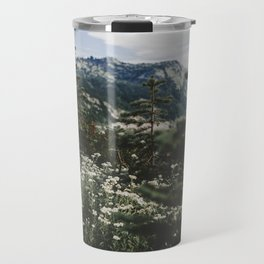 Mount Rainier Summer Wildflowers Travel Mug
