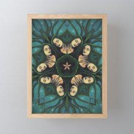 Coven // Woman Feminine Goddess Sister Witch Circle Spirit Sacred Magic Energy Healing Power Women Framed Mini Art Print