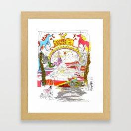 Land of Enchantment Framed Art Print