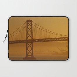 Stunning California Golden Sunrise Laptop Sleeve