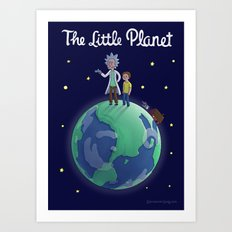 The Little Planet Art Print