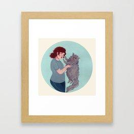 What is Love Framed Art Print