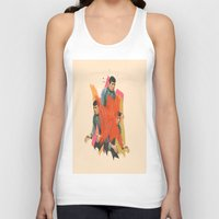 spock Tank Tops featuring Spock by Iotara