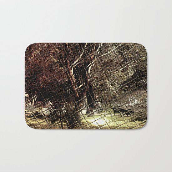Old tree in autumn colors Bath Mat