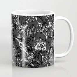 Summer grass , gray ,  black , white 2 Coffee Mug