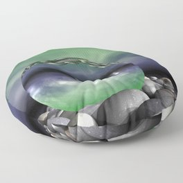 have a look through the glass -b- Floor Pillow