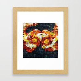 Cross Section Six Framed Art Print