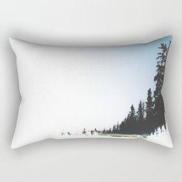 Night Timing Rectangular Pillow