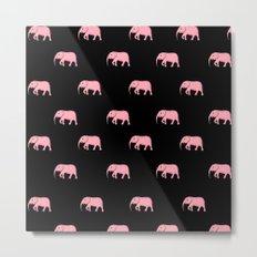 pink elephants Metal Print