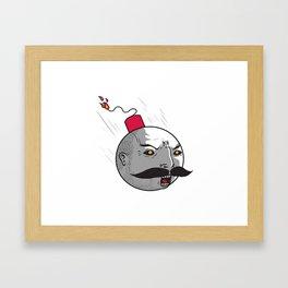 Ottobomb Framed Art Print