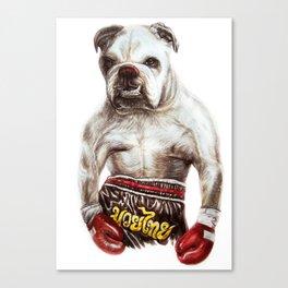 killer dog Canvas Print