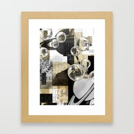 A Composition of Scales. 2019. Framed Art Print