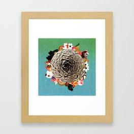 moonbrain Framed Art Print