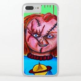Chucky vs. Chuckie Clear iPhone Case