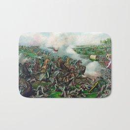 Battle of Five Forks Bath Mat