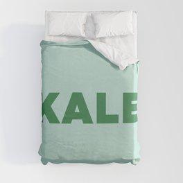 Kale  Duvet Cover