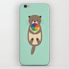 Sweet Otter iPhone & iPod Skin