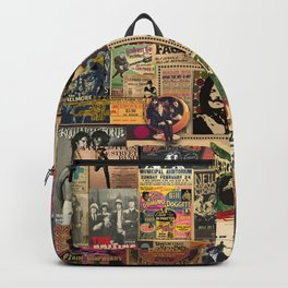 And the beat goes on Backpack