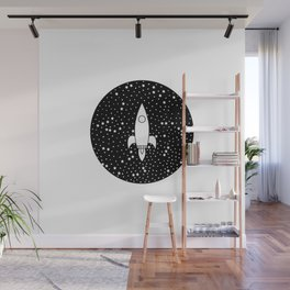 Fly Me to the Stars Wall Mural