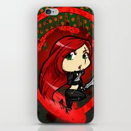 Chibi Daggers iPhone Skin