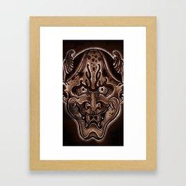 oni Framed Art Print
