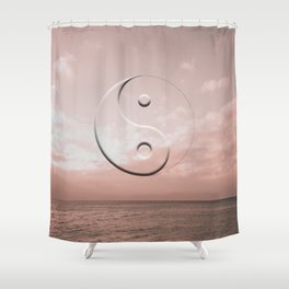 everything that rises Shower Curtain