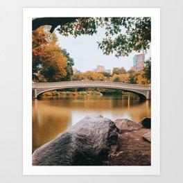 Bow Bridge 1 Art Print
