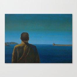 The Silent Man Canvas Print