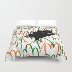 Jungle Dinosaur Duvet Cover