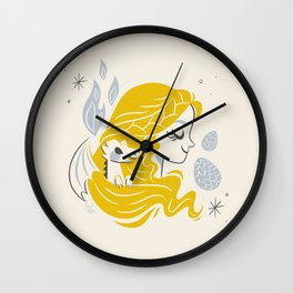 Mother of Dragons Wall Clock