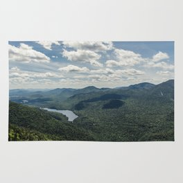 Lower Ausable Lake from Colvin Rug