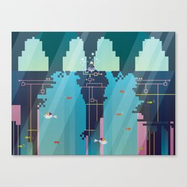 Recharge Canvas Print