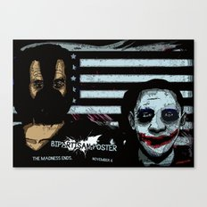 Bipartisan Poster Canvas Print