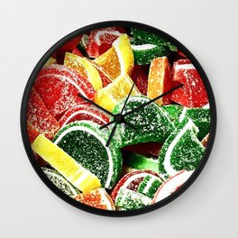 Slices Wall Clock