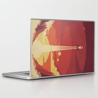 sky Laptop & iPad Skins featuring Atomic Sky by Danny Haas