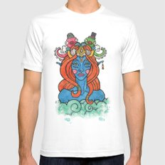 Sea Queen Mens Fitted Tee MEDIUM White