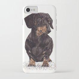 Dog-Dachshund iPhone Case