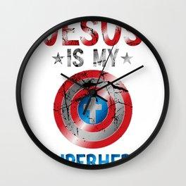 Jesus Is My Superhero Worship Team Jesus Is My Best Friend Wall Clock