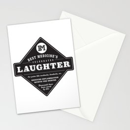 Laughter is the Best Medicine Stationery Cards